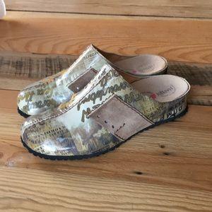 Haflinger clogs slides shoes size 9 - 40 like new